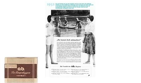 o.b® tamponger historik - De första åren med o.b.® (1952)
