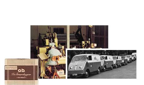 o.b® tamponger historik - De första stegen mot framgång (1950)